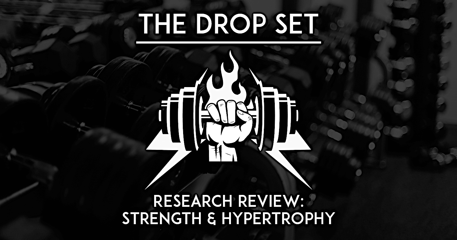 Drop set sci-fit