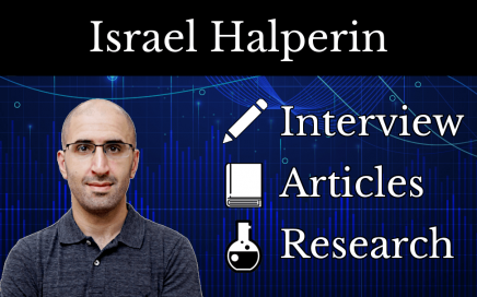 Israel Halperin sci-fit science spotlight interview